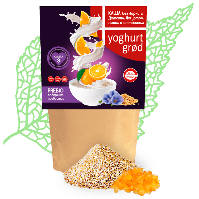 Йогуртовые каши Yogurt grod
